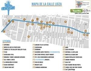 Mapa de la Calle Loíza