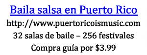 Donde bailar salsa en Puerto Rico
