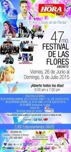 Programa del Festival de las Flores de Aibonito 2015